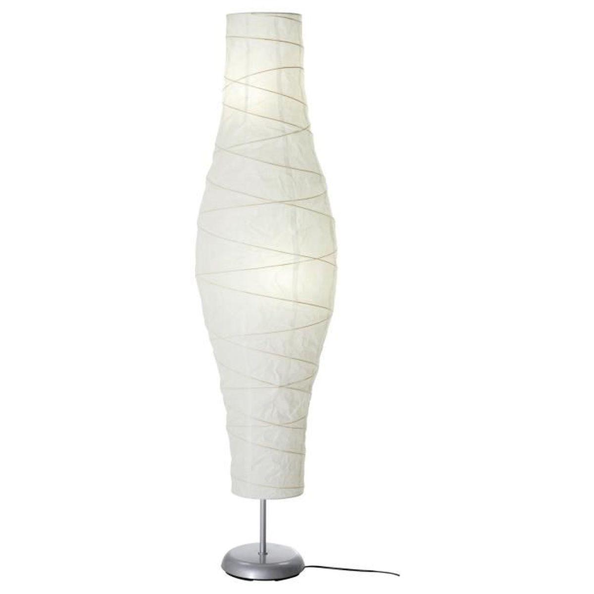 Ikea Lampadaire Papier Blanc Hauteur 137cm Achat Vente Ikea