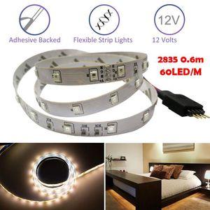 BANDE - RUBAN LED beguin® 0,6M RVB 2835 SMD flexible 12V Lampe bande