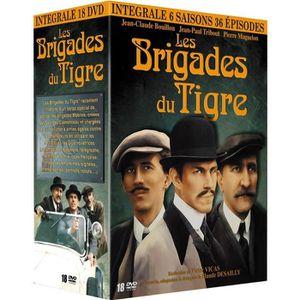 DVD FILM Coffret intégrale Les brigades du tigre - En DVD