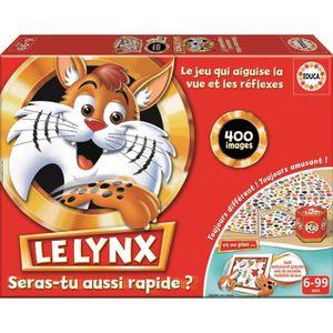 JEU SOCIÉTÉ - PLATEAU EDUCA Le Lynx 400 Images avec Application