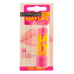 BAUME SOIN DES LÈVRES GEMEY Baby Lips Baume Pink Punch (x1)