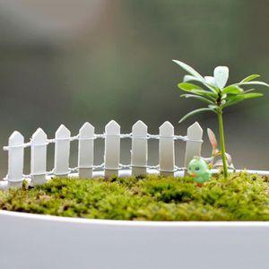 Mini Barrière de jardin modulable blanche - - Achat / Vente mur ...