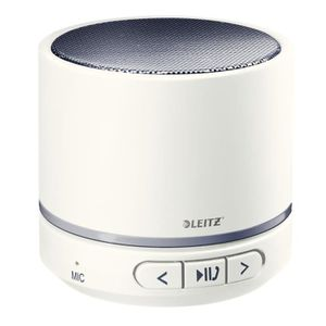 ENCEINTES ORDINATEUR LEITZ Mini enceinte Bluetooth WOW - Blanc