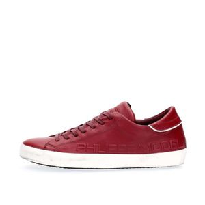 BASKET PHILIPPE MODEL PARIS SNEAKERS Homme RED, 44