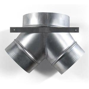 PIÈCE APPAREIL CUISSON NOVY 906299  raccord culotte 2 x Ø 125 mm - Ø 150