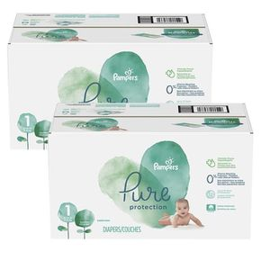 COUCHE 140 Couches Pampers Pure Protection taille 1