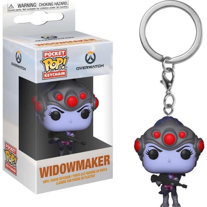 Porte-clés Funko Pocket Pop! Games: Overwatch: Widowmaker
