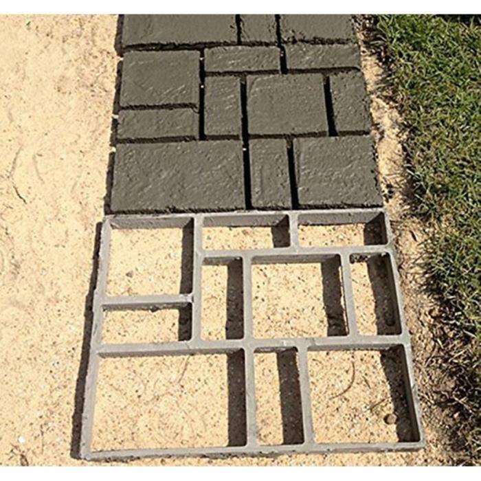 Moule Pour Beton le coffrage à béton sous forme de plâtre de bricolage rectangulaire