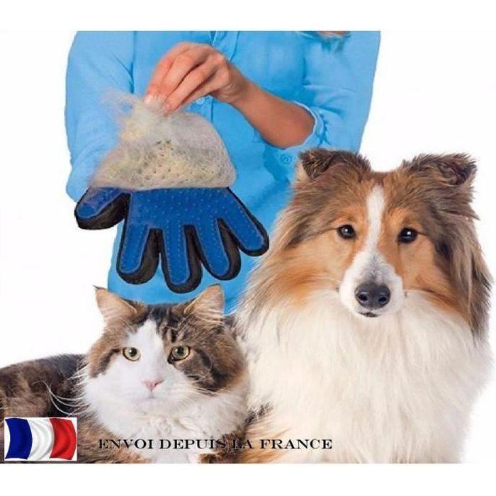 gant toilettage poil de chien et chat achat vente gant toilettage poil de chien et chat pas. Black Bedroom Furniture Sets. Home Design Ideas