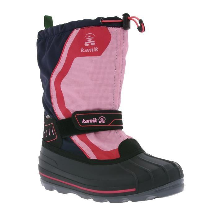 kamik Snowcoast 4 Enfants Bottes d'hiver Chaussures de neige Marine