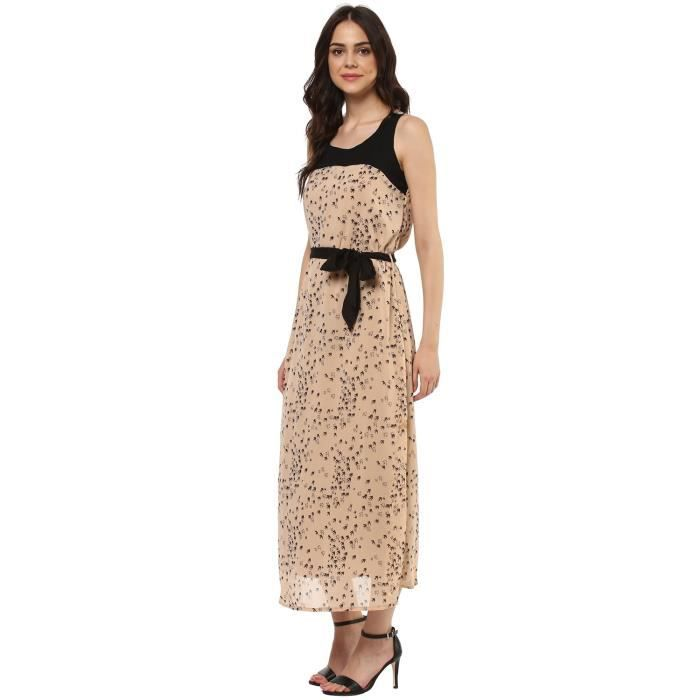Womens Georgette Dress AR49D Taille-34