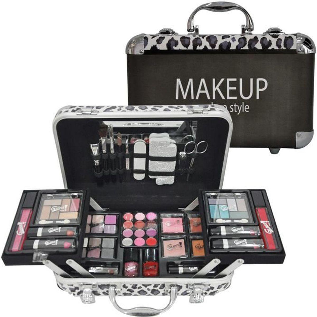 PALETTE DE MAQUILLAGE  Mallette de Maquillage - Modern Style - 62 Pcs