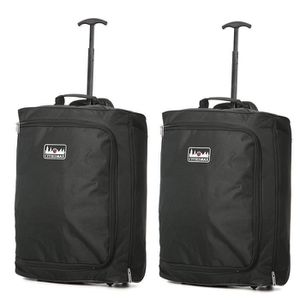 VALISE - BAGAGE 5 Cities 42L Bagage Cabine Ryanair 55x40x20 Dimens