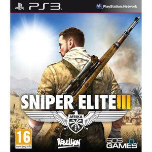 JEU PS3 Sniper Elite III Jeu PS3