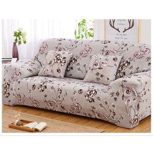 HOUSSE DE CANAPE Housse de canapé-fauteuil 2 places-personnes clic