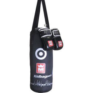 SAC DE FRAPPE Kit de frappe de boxe kid Montana Bagpack - noir -