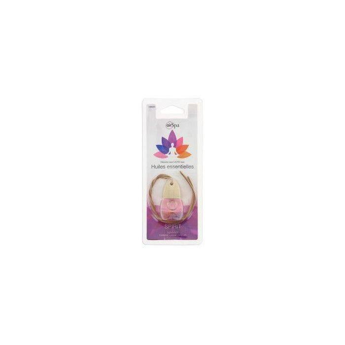 AIR SPA Flacon parfum Spirit - A base d'huiles essentielles
