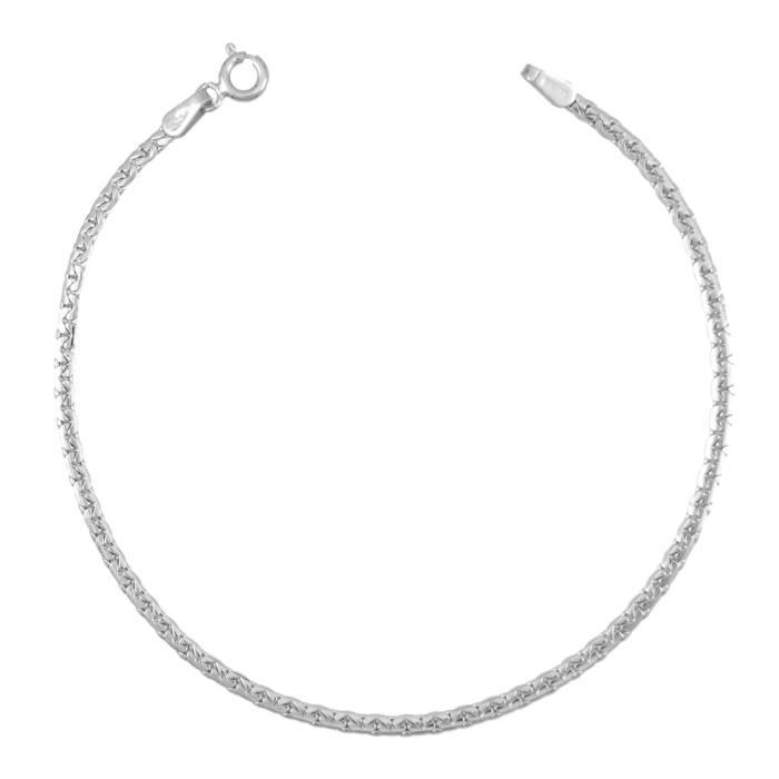 Les Bijoux d'Emma - Collier Maille Haricot - OR 9CT