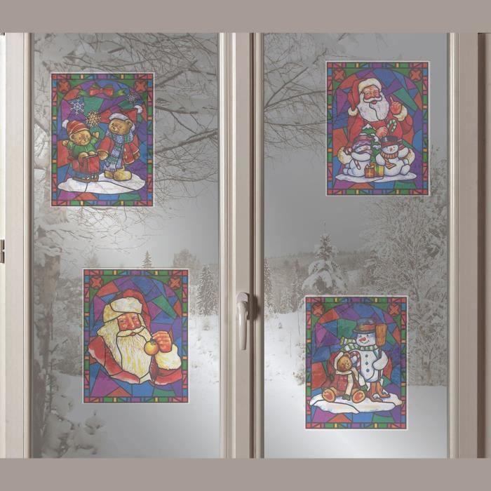 Deco noel pour vitre achat vente deco noel pour vitre for Achat decoration de noel