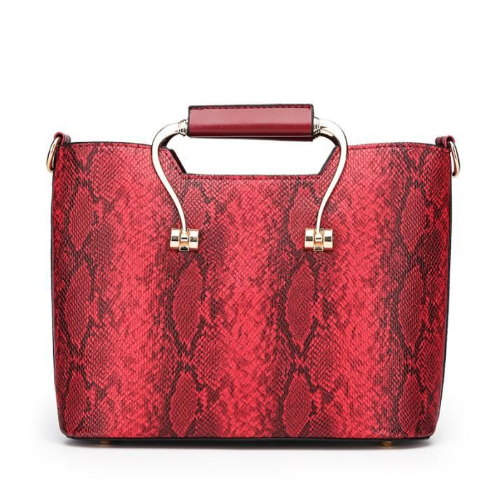 Marque sacs à main de mode 2018 nouvelle tendance sac à main en relief de serpent