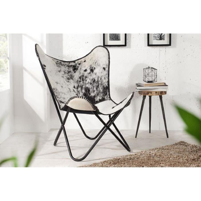 Vente Leptir Et Blanc Achat Ii Noir Design Fauteuil jpLqSGVUMz