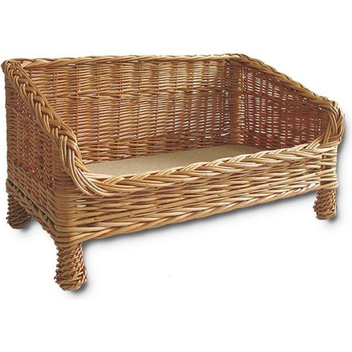 panier en osier chiens mod le pulli taille 77 achat vente corbeille coussin panier en. Black Bedroom Furniture Sets. Home Design Ideas