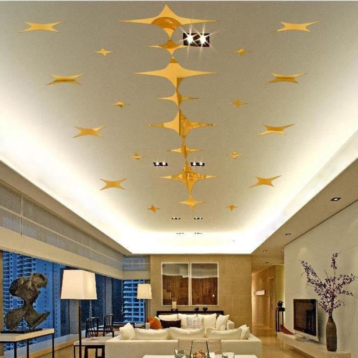Stickers etoiles plafond achat vente pas cher - Etoiles phosphorescentes plafond ...
