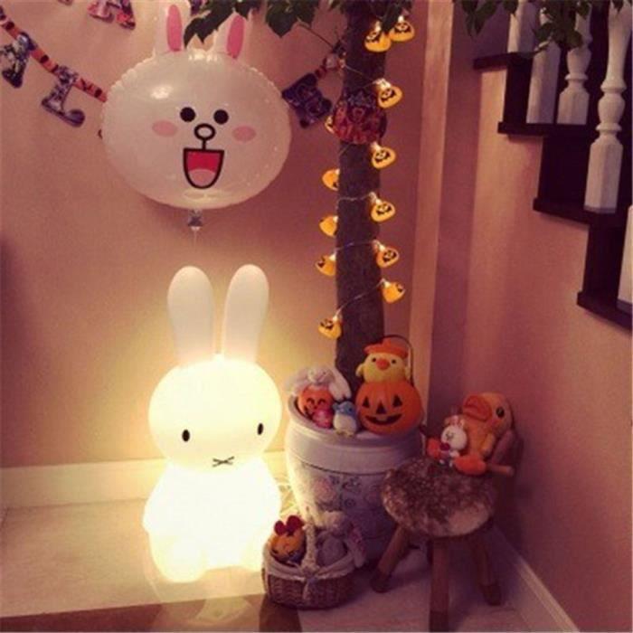 De Décoration Atmosphère Bébé Miffy Led Lampe Belle Dormir Lumière Chambre Bureau Chevet Lapin Nuit Forme 0wNnZXP8Ok