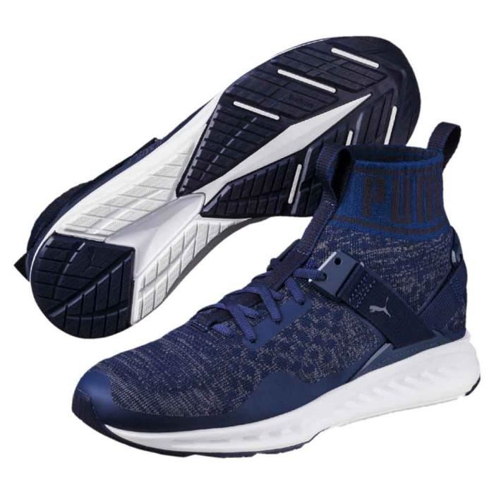 97e6dd2ff05 Chaussures homme Running Puma Ignite Evoknit - Prix pas cher - Cdiscount