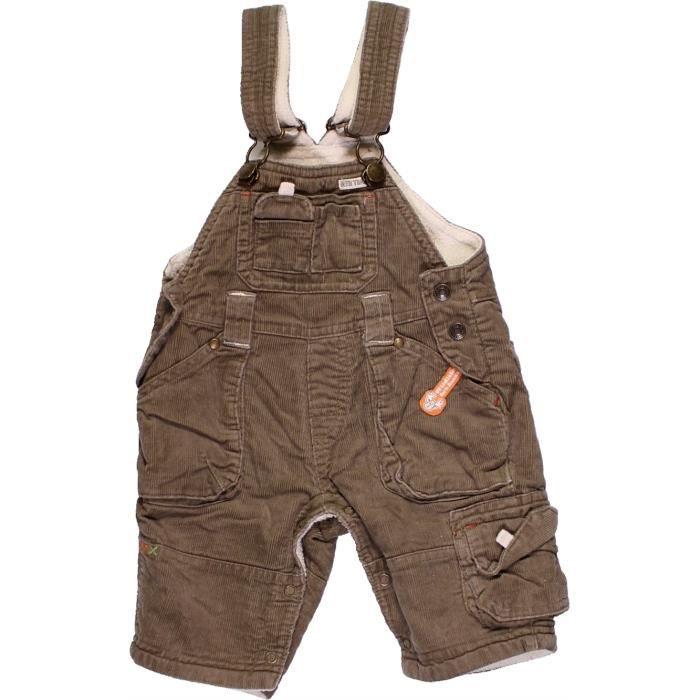 commercialisable dessins attrayants divers styles Salopette bébé garçon C&A 3 mois marron hiver - vêtement ...