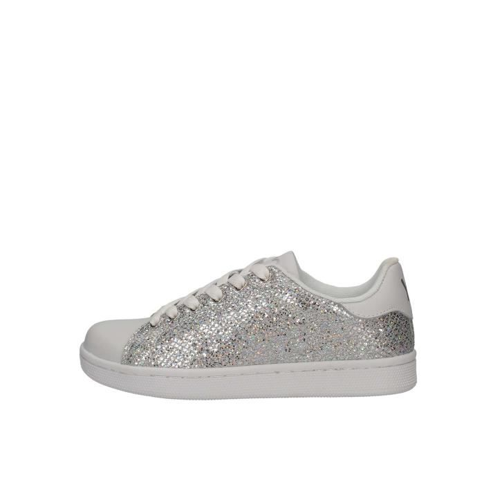 YNOT? Sneakers Femme argent, 36