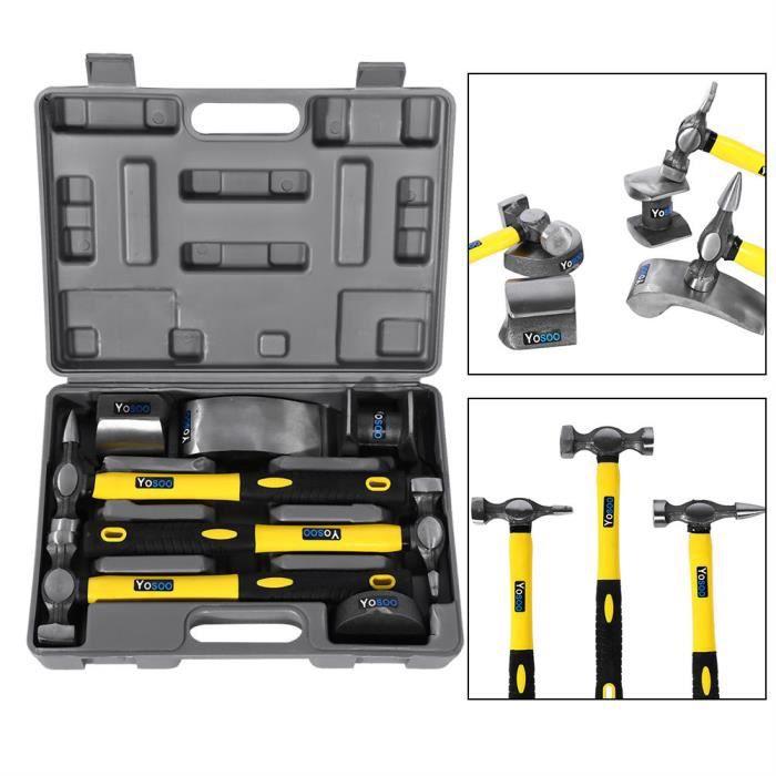 MARTEAU marteaux avec bloc Kit de 7PCS outil de réparation