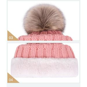 ... BONNET - CAGOULE 1 Bonnet POMPOM BLANC ECRU chaud et doux en tricot. ‹› 302da183f85