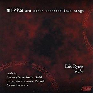 CD MUSIQUE CLASSIQUE Boulez / Rynes, Eric - Mikka & Other Assorted Love