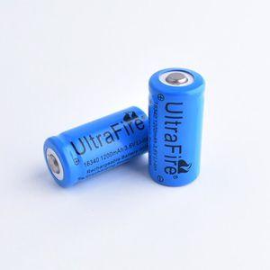 CHARGEUR DE PILES tenoens® 2 x 3.7V Li-16340 CR123A ion rechargeable