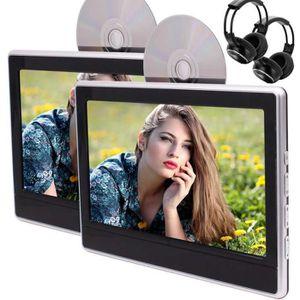 LECTEUR DVD PORTABLE DVD portable double écran avec lecteur de 11,6 pou