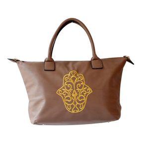 Sac shopping Cabas fourre tout main de fatma khamsa - Achat   Vente ... 14e1105bcdcc