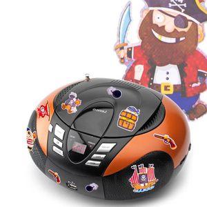 RADIO CD CASSETTE Lecteur CD portable radio tuner MP3 USB écran DEL