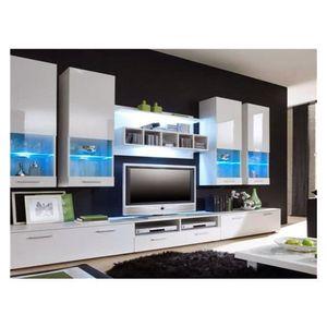 meuble tv colore achat vente meuble tv colore pas cher cdiscount. Black Bedroom Furniture Sets. Home Design Ideas