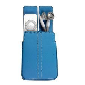 COQUE MP3-MP4 I-Tec - T1042 - Etui en cuir Ipod Shuffle