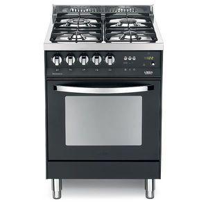 PLAQUE MIXTE LOFRA PNM66GVT-C 60X60 Matt Black COLORÉS cuisiniè