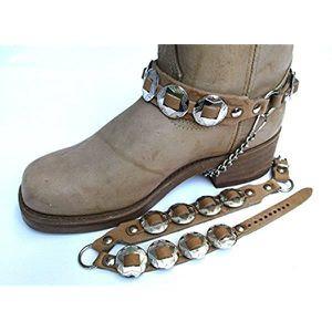 1dd29fe64e6 BOTTINE Western Boots chaînes de démarrage des hommes