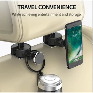 FIXATION - SUPPORT Supports Voiture Appuie Tête x2 pour HONOR 5C Smar