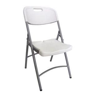 chaise jardin plastique pliante achat vente chaise jardin plastique pliante pas cher cdiscount. Black Bedroom Furniture Sets. Home Design Ideas