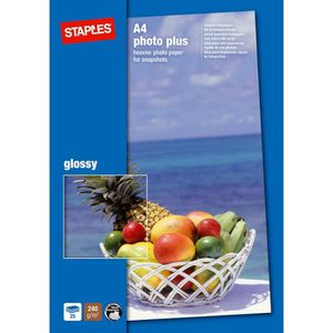 PAPIER PHOTO Papier photo mat pour imprimantes à jet d'encre, A