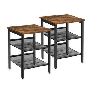 Table de chevet industrielle achat vente table de Table de chevet style industriel