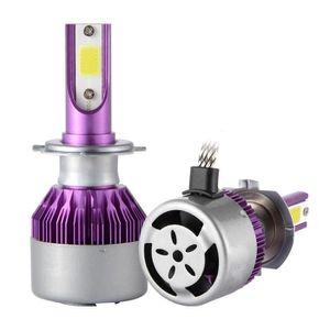 PHARES - OPTIQUES XCSOURCE 2pcs Ampoule Lampe Xénon HID Halogène H7