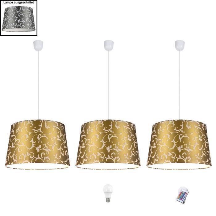 Led Suspendue Lumière Rgb Télécommandervb Dimmable Lampe Modèle Led Fleurs Spots Conception Pendentif dxBCQoWre