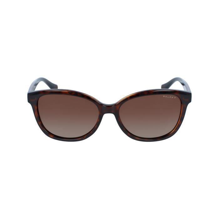 Lunettes de soleil Ralph by Ralph Lauren RA-5222 -1378T5 - Achat   Vente  lunettes de soleil Femme Adulte Beige - Soldes  dès le 9 janvier ! Cdiscount d73846867ef9