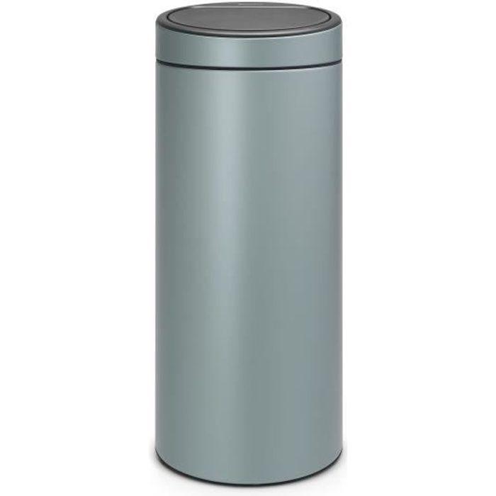brabantia poubelle touch bin 30l vert menthe achat vente poubelle corbeille brabantia. Black Bedroom Furniture Sets. Home Design Ideas